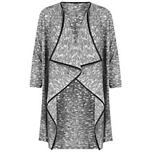 Buy Miss Selfridge Waterfall Cardigan, Grey Online at johnlewis.com