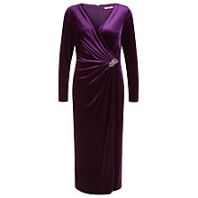 Buy Jacques Vert Petite Velvet Maxi Dress Online at johnlewis.com