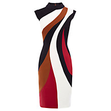 Buy Karen Millen Colour Block Pencil Dress, Multi Online at johnlewis.com
