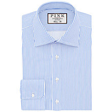 Buy Thomas Pink Grant Shirt, Pale Blue/White Online at johnlewis.com