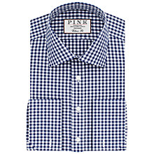 Buy Thomas Pink Summers Check Classic Fit XL Sleeve Double Cuff Shirt Online at johnlewis.com