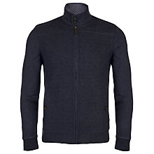 Buy Ted Baker Lapin Quilted Funnel Neck Jacket, Navy Online at johnlewis.com