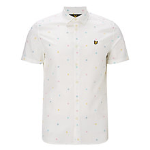 Buy Lyle & Scott Short Sleeve Micro Print Shirt Online at johnlewis.com