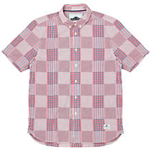 Buy Penfield Penrose Check Short Sleeve Shirt, Red Online at johnlewis.com