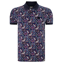 Buy Pretty Green Sefton Paisley Polo Top Online at johnlewis.com