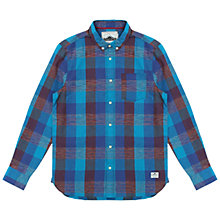 Buy Penfield Gilcrest Check Shirt, Blue/Red Online at johnlewis.com