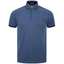 Buy Ted Baker Wunstar Polo Shirt, Dark Blue Online at johnlewis.com