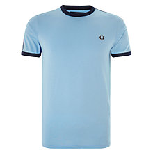 Buy Fred Perry Sports Authentic Taped Ringer T-Shirt Online at johnlewis.com
