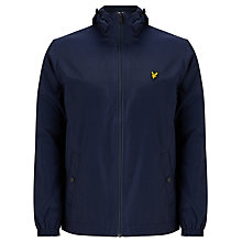 Buy Lyle & Scott Zip Through Hooded Jacket, Navy Online at johnlewis.com