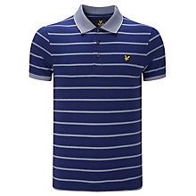 Buy Lyle & Scott Bird Polo Shirt, Present Blue Online at johnlewis.com
