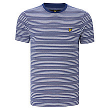 Buy Lyle & Scott Oxford Stripe Cotton Tee Online at johnlewis.com