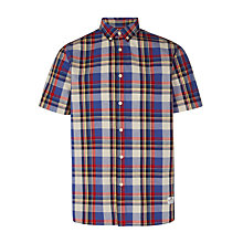 Buy Penfield Nolan Check Short Sleeve Shirt, Multi Online at johnlewis.com