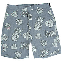Buy Penfield Yale Pineapple Shorts, Blue Online at johnlewis.com