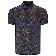Buy Pretty Green Byland Repeat Paisley Short Sleeve Shirt Online at johnlewis.com