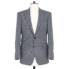 Buy Thomas Pink Hebborn Wool Jacket, Charcoal Online at johnlewis.com