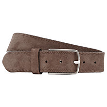 Buy Reiss Jake Belt, Dark Brown Online at johnlewis.com