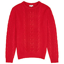 Buy Reiss Tale Chunky Cable Knit Jumper Online at johnlewis.com