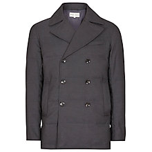 Buy Reiss Destiny Quilted Peacoat, Navy Online at johnlewis.com