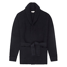 Buy Reiss Macey Belted Cardigan, Navy Online at johnlewis.com