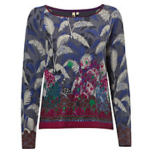 Buy White Stuff Ottodine Print Jumper, Multi Online at johnlewis.com