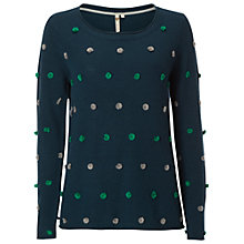 Buy White Stuff Pom Pom Jumper, Decadent Online at johnlewis.com