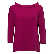 Buy White Stuff Fold Up Knit, Flamingo Purple Online at johnlewis.com
