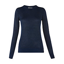 Buy Whistles Sparkle Jumper, Blue Online at johnlewis.com