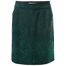 Buy White Stuff Jacquard Skirt, Decadent Green Online at johnlewis.com
