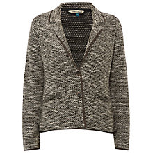 Buy White Stuff Seasons Textured Jacket, Glaze Grey Online at johnlewis.com