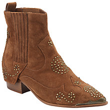 Buy Ash Laslo Studded Ankle Boots, Sigaro Online at johnlewis.com