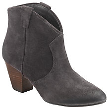 Buy Ash Jalouse Suede Western Ankle Boots, Woodash Online at johnlewis.com