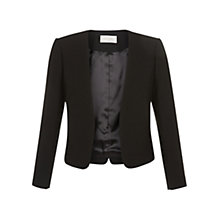 Buy Hobbs Alwena Jacket, Black Online at johnlewis.com