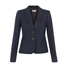 Buy Hobbs Rosalie Jacket, Navy/Black Online at johnlewis.com