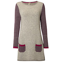 Buy White Stuff Tree Leaf Tunic, Ultraviolet Online at johnlewis.com