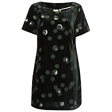 Buy White Stuff Emerald Tunic, Dark Emerald Green Online at johnlewis.com