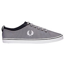 Buy Fred Perry Hallam Nylon Lace-Up Shoes Online at johnlewis.com