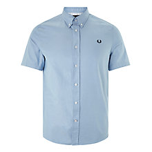 Buy Fred Perry Classic Twill Short Sleeve Shirt Online at johnlewis.com