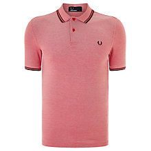 Buy Fred Perry Twin Tip Polo Shirt Online at johnlewis.com
