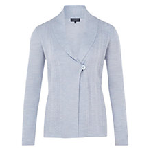 Buy Viyella Petite Merino Cardigan, Pale Blue Online at johnlewis.com