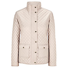 Buy Viyella Quilted Riding Jacket, Champagne Online at johnlewis.com
