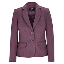 Buy Viyella Herringbone Jacket, Purple Online at johnlewis.com