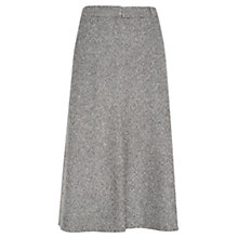 Buy Viyella Mini Tweed Check Skirt, Grey Online at johnlewis.com