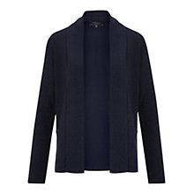 Buy Viyella Petite Merino Sparkle Cardigan, Navy Online at johnlewis.com