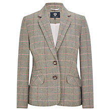 Buy Viyella Heritage Check Jacket, Seafoam Online at johnlewis.com