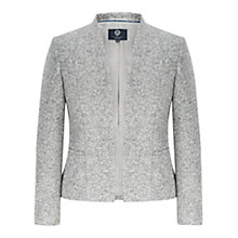 Buy Viyella Petite Edge To Edge Jacket, Grey Online at johnlewis.com
