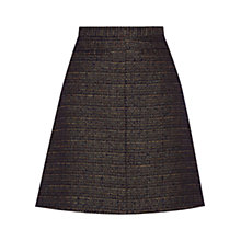 Buy Oasis Tweed Skirt, Multi/Gold Online at johnlewis.com
