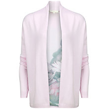 Buy Ted Baker Wendea Floral Panel Wrap Cardigan, Pale Pink Online at johnlewis.com