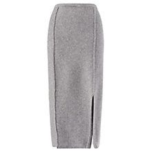 Buy Jigsaw Soft Stretch Pencil Skirt, Grey Online at johnlewis.com