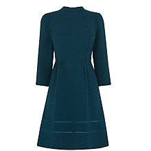 Buy Oasis Victoriana Dress, Mid Green Online at johnlewis.com