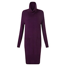 Buy East Cowl Neck Tunic Dress, Pansy Online at johnlewis.com